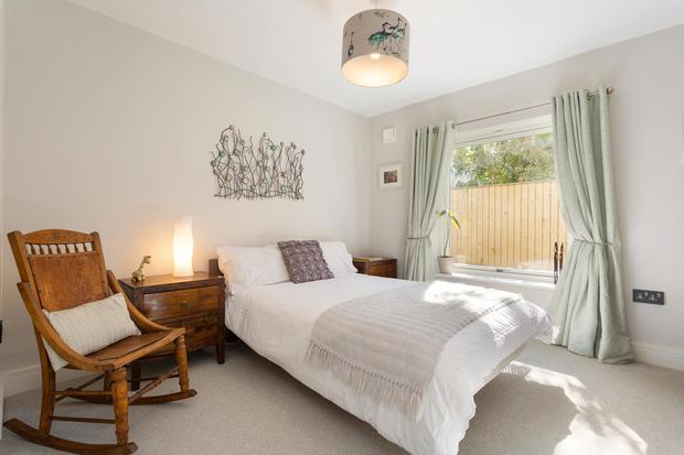 There are four double bedrooms