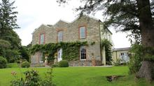 Ballyarr House has impressive, well-maintained gardens and an attractive exterior