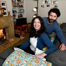 Carla Ferreira and her husband Miguel Pereira live in Dublin and are buying a cottage in Co Sligo. Photo: Bryan Meade