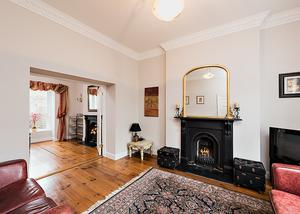 50 Carysfort Avenue has wooden floors, cast iron fires and more