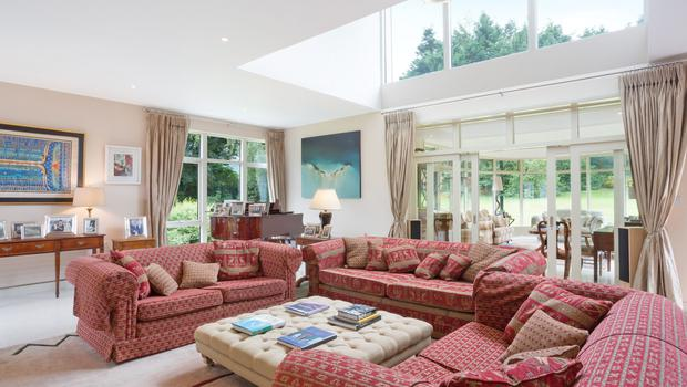 Farnham Hill living area