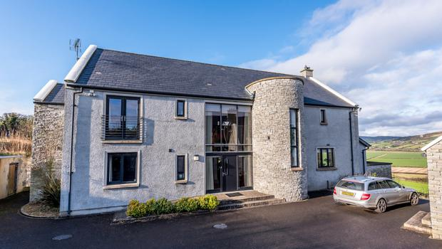 The 6,135 sq ft house at Carrownamaddy