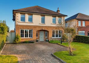 The exterior of 30 Drumnigh Wood in Portmarnock