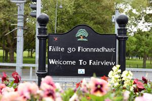 Fairview is home to many green areas