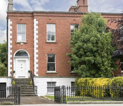 2 Rostrevor Terrace is set well back from a private road.