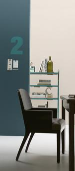 Wall colourings from Dulux's paint range