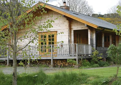 Two-bedroom eco-friendly log home, An Tearmann, Cois Abhainn, Greenan, Glenmalure, Co Wicklow