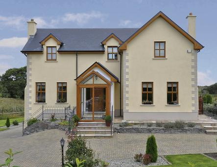 This home in Drom East, Co Galway, was built in 2005 and extends to over 3,000 sq ft