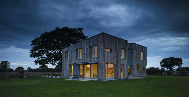 The Passive House built by Helena FitzGerald in Borris, Co Offaly