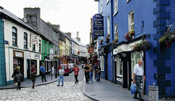 Ennis town in Clare