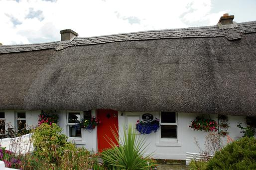 A thatched cottage in Lismore