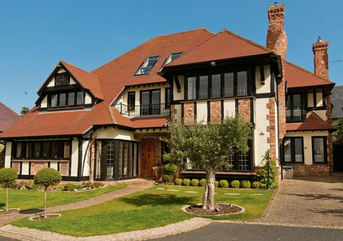 The exterior view of 'Willow Brook' in Dalkey, Co Dublin