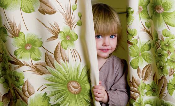 Curtains are the mascara and eye shadow of a house.