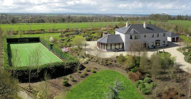 Niall Quinn and wife Gillian selling their home, Longstone Rath, Forenaghts Great, Naas, Co Kildare. Picture Eamonn Gosling.