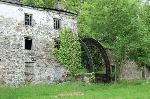 AN 18th century cottage with attached mill at Knocknagoshel, Co Kerry,