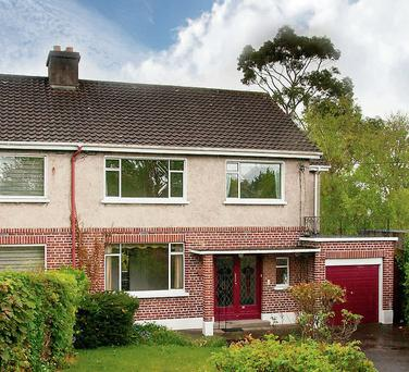 The Clonskeagh property is on the market for €725k