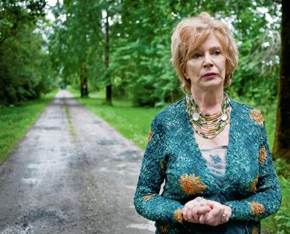 Edna O'Brien at Drewsborough House.
