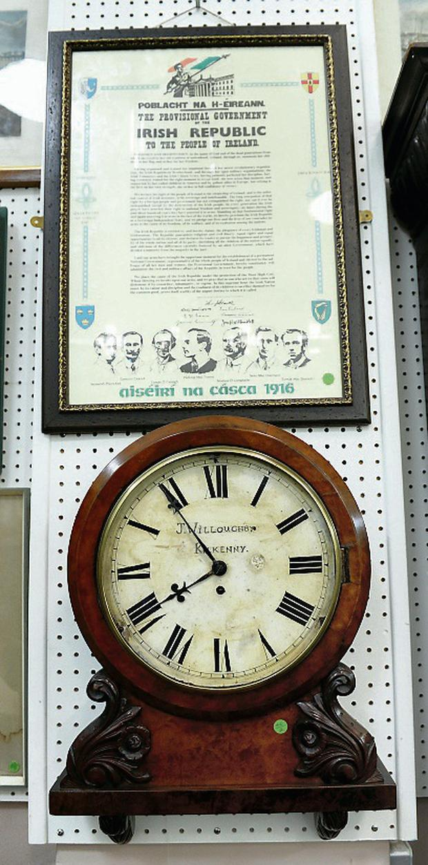 An item on sale at the Herman Wilkinson Auction Rooms