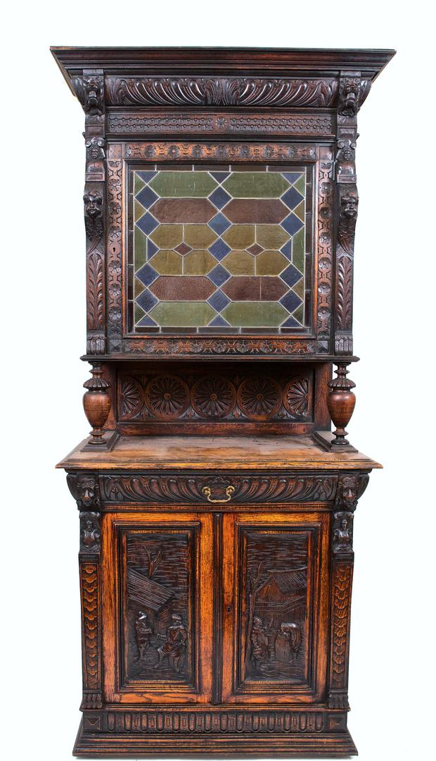 A piece of furniture on sale at Adams Auctioneers.