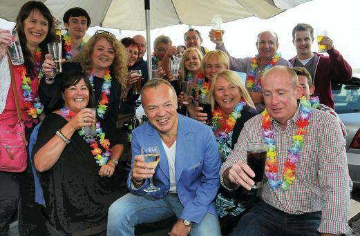 Graham Norton with his neighbours in Durrus