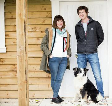 Conor Kelly and Nell Roddy from Snug