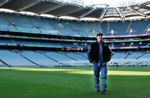 Garth Brooks at Croke Park earlier this year