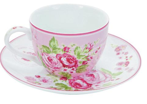 Cup and saucer, Dunnes, €5