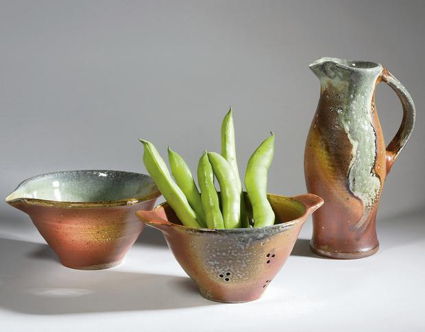 Gourmet Pots, a gallery shop near Schull, Co Cork, stocks work from English and Irish potters.