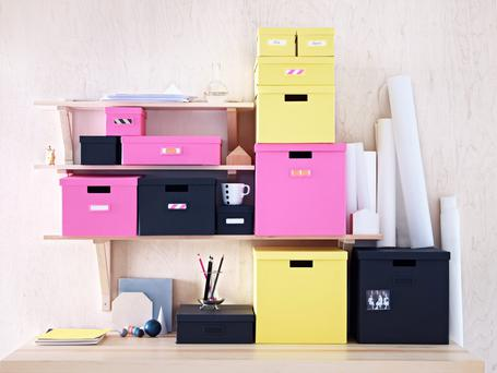 The Tjena storage series from Ikea