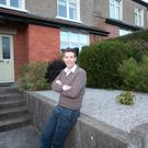 Dermot Bannon outside his Dublin home