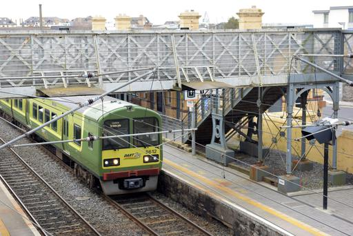 The DART is currently operating from Clongriffin to Greystones.