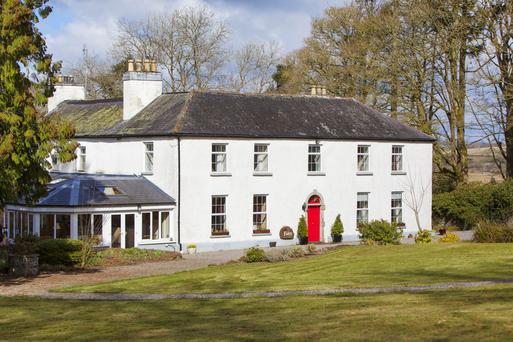 The old Rectory has been recently used as a holistic retreat centre