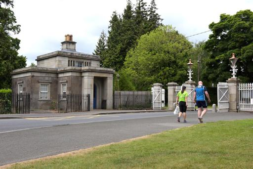 Just out the gates of the Phoenix Park is a golden mile of massive detached manors in Castleknock