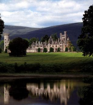 Humewood Castle, the 19th Century Gothic mansion on 450 acres in County Wicklow acquired for more than €7m by media billionaire John Malone, also America's biggest private land owner