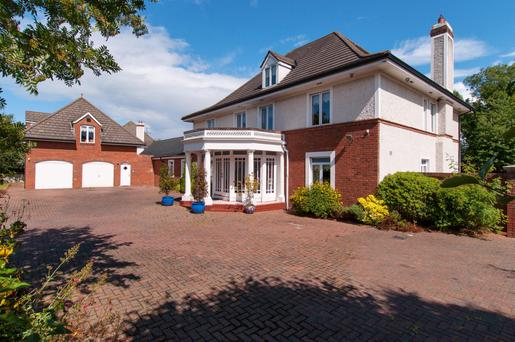 14 Ballybride Road, which was built on a large plot, has an impressive exterior