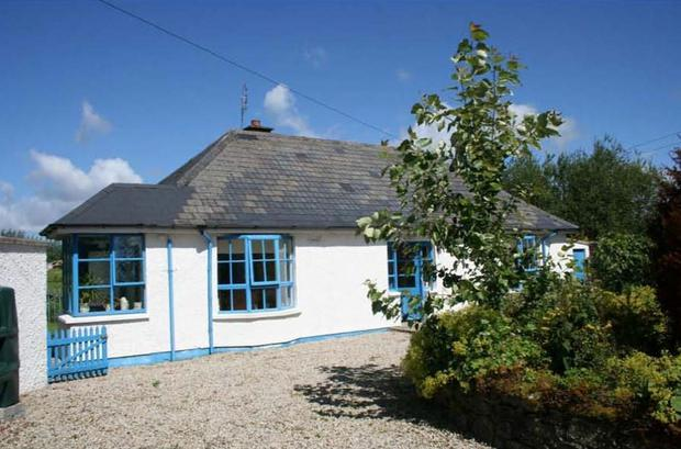 One of the cottages at Ballyarr House