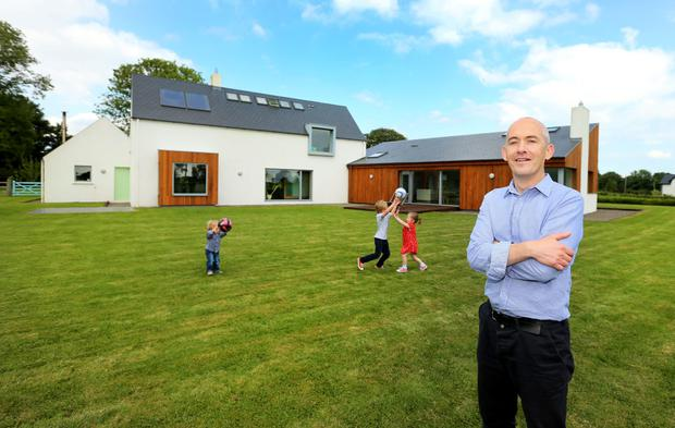Patrick Gilsenan pictured at his home in the Hill of Down co. Meath for Sunday Property