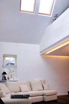 """One of OC Architects' projects which incorporated a striking loft conversion was in Mount Pleasant Villas, Dublin. The entire house was gutted and all floor levels were dropped to open up the loft space to the living space below and create a mezzanine off this living area, accommodating the new kitchen. """"The building itself was the entire property with no garden space or yard so we couldn't extend, so it was a case of maximising the available space and pushing the design to the limit,"""" says Alan O'Connell."""