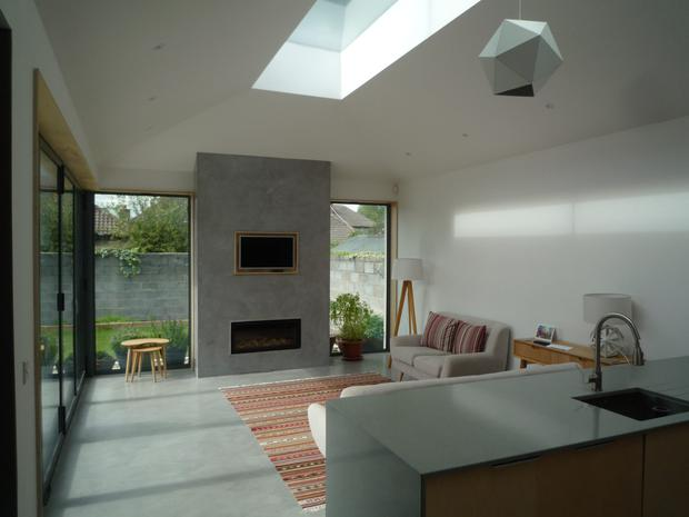At around 34 sqm, this Dundrum extension didn't need planning but still adds space