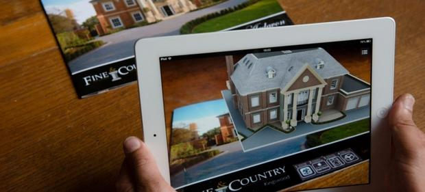 Online viewing is one of the many promises of the future of house-hunting