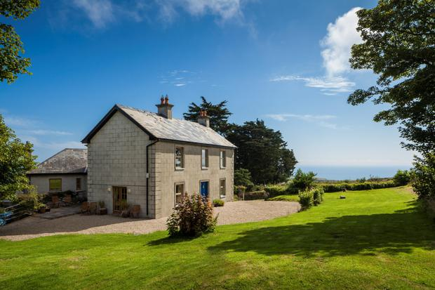 Wingfield House in Wicklow has clear views to Wales