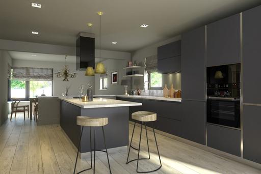Niamh MacGowan designed a spacious kitchen layout