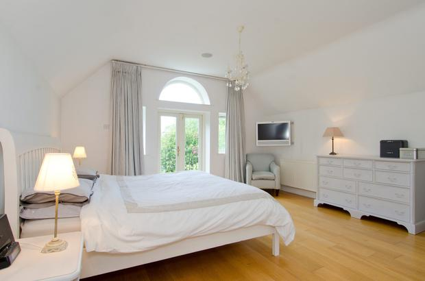 21 Abington, Malahide, Co Dublin, boasts this spacious master bedroom