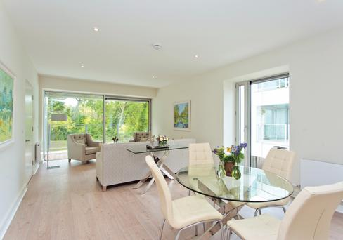Dunluce, a luxury apartment complex by developer Tom Bailey in sought-after Dublin 4, offers views of the Merrion Cricket Club