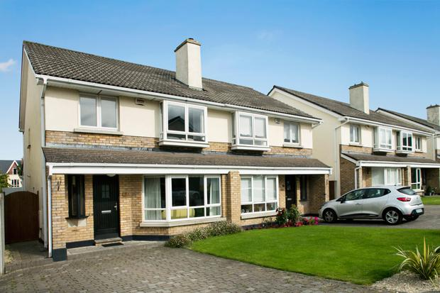 The front exterior at 5 Grangefield Ballinteer, Dublin 18