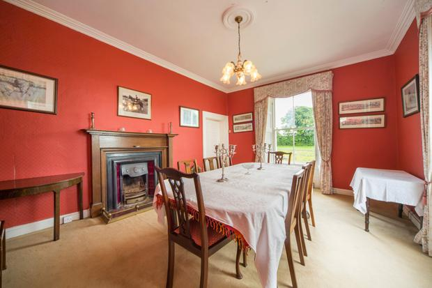 The charming early Victorian property has retained many of its original features, including shutters and fireplaces
