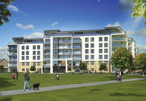 Hooke & MacDonald sold an entire 197-unit block of Cosgrave apartments in Honeypark, south Dublin, to one investor