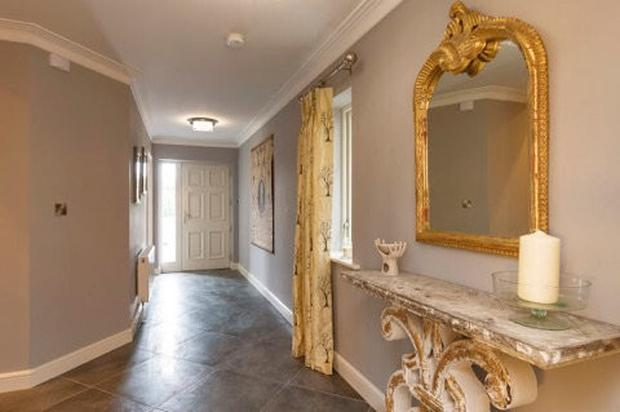 An entrance hall at the Hawthorn Gate development on the Maynooth Road in Celbridge, Co Kildare