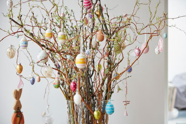 Easter trees are becoming more popular