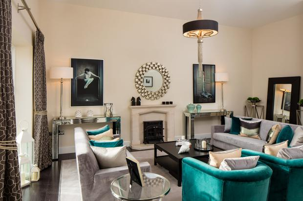 A living room design at the scheme by Phoenix